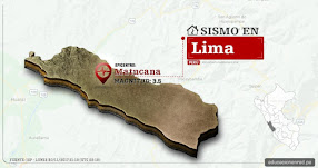 Temblor en Lima de 3.5 Grados (Hoy Lunes 20 Noviembre 2017) Sismo EPICENTRO Matucana - Huarochirí - IGP - www.igp.gob.pe
