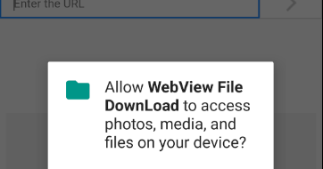 android - WebView file download example
