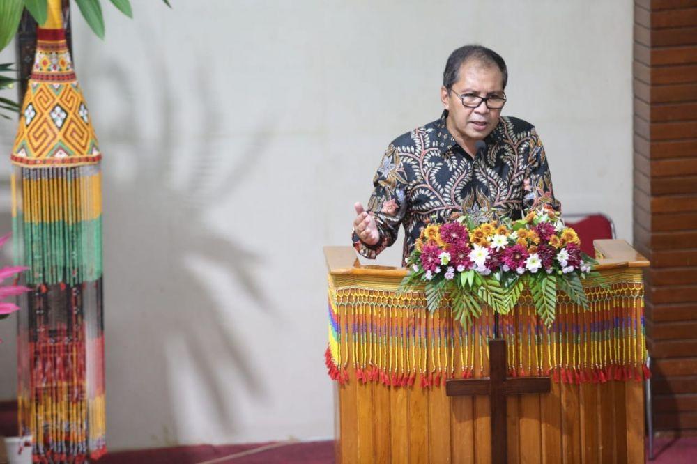 Hadiri Perayaan Paskah Walikota Makassar Serukan Perlunya Memperkokoh Kerukunan Beragama