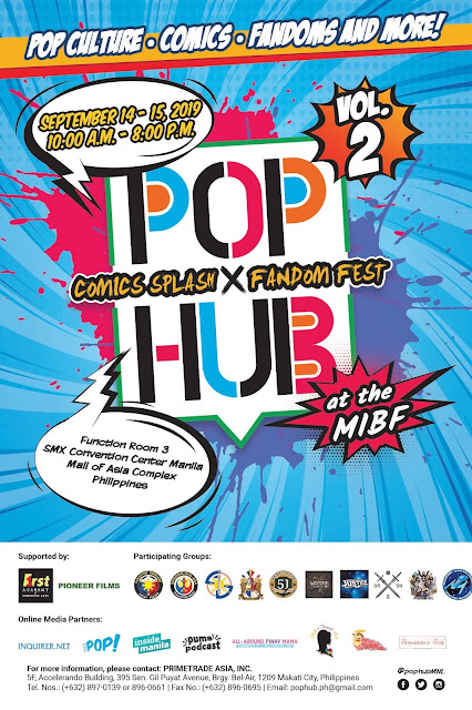All-Around Pinay Mama blog, Pop Hub Comics Splash x Fandom Fest Volume 2