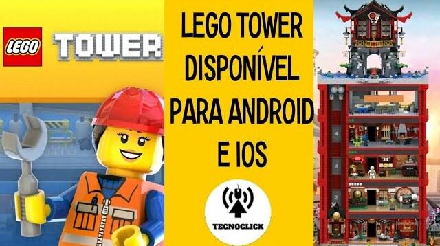 Lego Tower disponível para android e ios