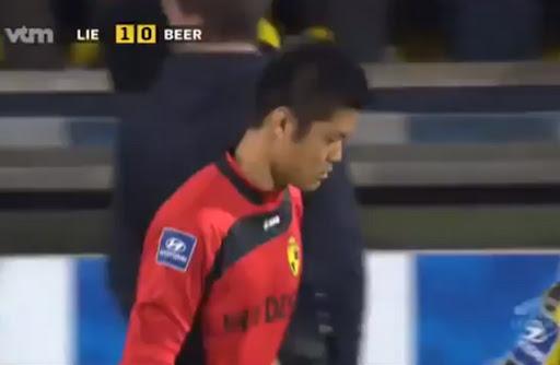 Japan goalkeeper Eiji Kawashima livid over 'Fukushima' taunts in Belgium