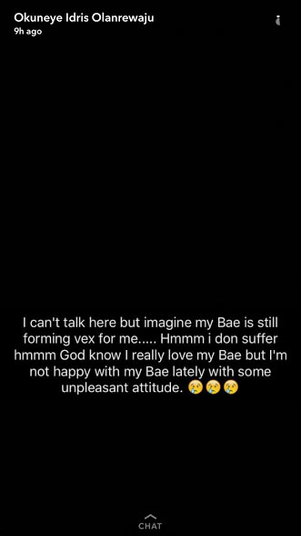 "Bobrisky's ""bae"" beats him black and blue, damages his iPhone"