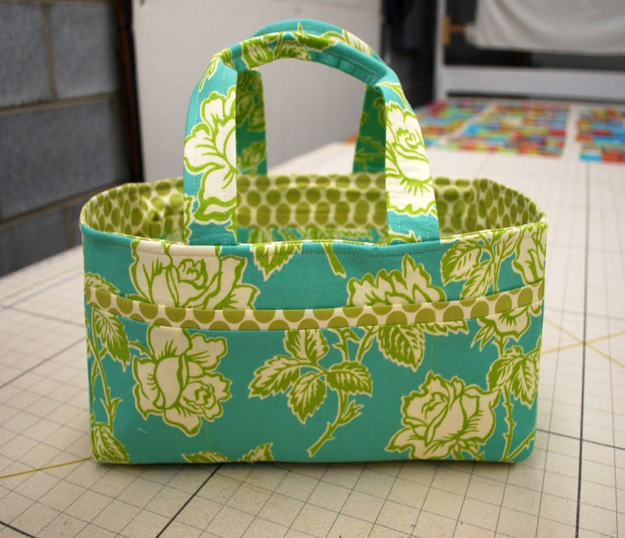 Sewing Caddy Bag Tutorial