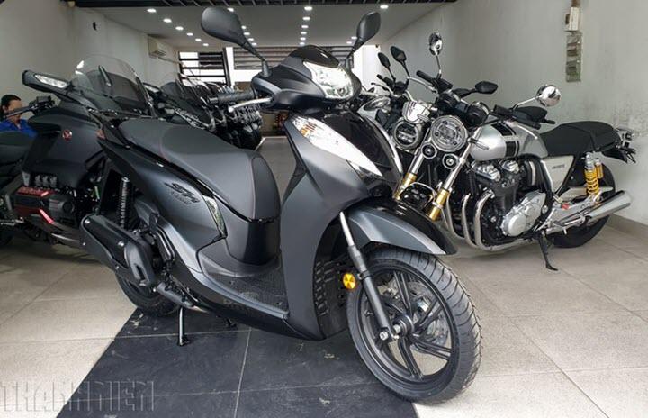 4 mẫu xe ga Honda nhập khẩu vừa gia nhập thị trường Việt Nam