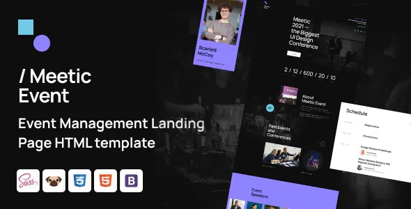 Best Event Management HTML5 Template