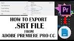 File .SRT berubah saat diimpor ke Premiere Pro 15.05