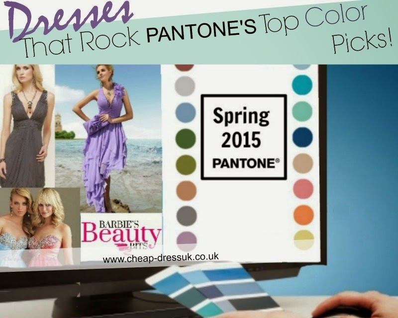 Dresses That Rock Pantone's Top Color Picks for Spring 2015, By Barbie's Beauty Bits