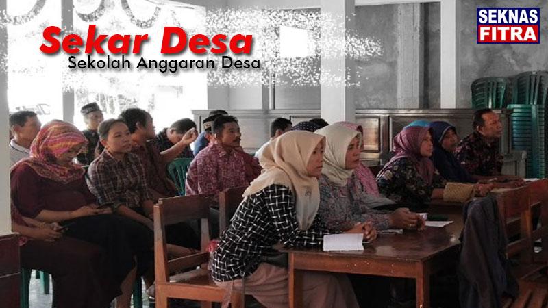 Sekar Desa (Sekolah Anggaran Desa) di Kabupaten Trenggalek