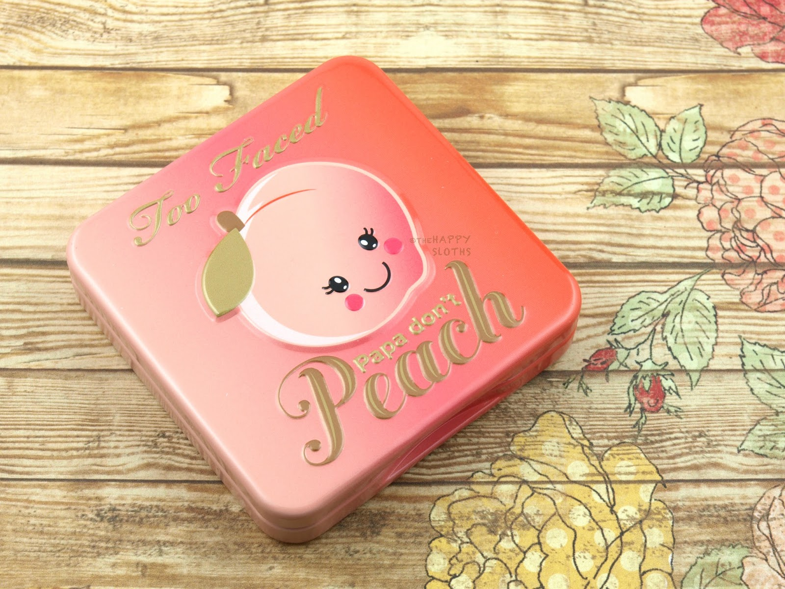 Too Faced Sweet Peach Papa Don't Peach Blush: Review and Swatches