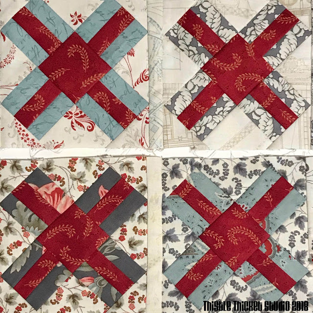 Railroad Crossing Blocks Made By Thistle Thicket Studio. www.thistlethicketstudio..com