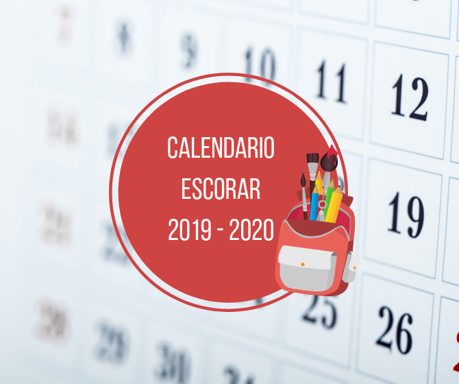 LA SEP PRESENTA EL CALENDARIO ESCOLAR 2019 - 2020