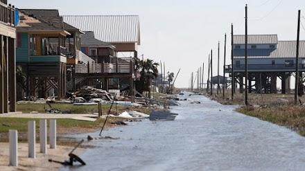 Λουιζιάνα: Καταστροφές από τον τυφώνα Δέλτα