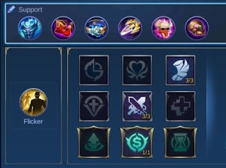 Items Hero Popol and Kupa Support