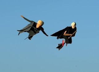 """Donald Trump And Hillary Clinton Spotted Flying In California"""