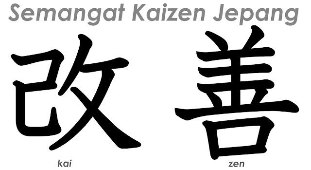 Semangat Kaizen Jepang