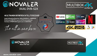 NOVALER Multibox 4K UHD