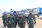 Pejabat Bintara Tertinggi UNIFIL Beri Pengarahan Satgas Batalyon Mekanis UNIFIL Di Lebanon