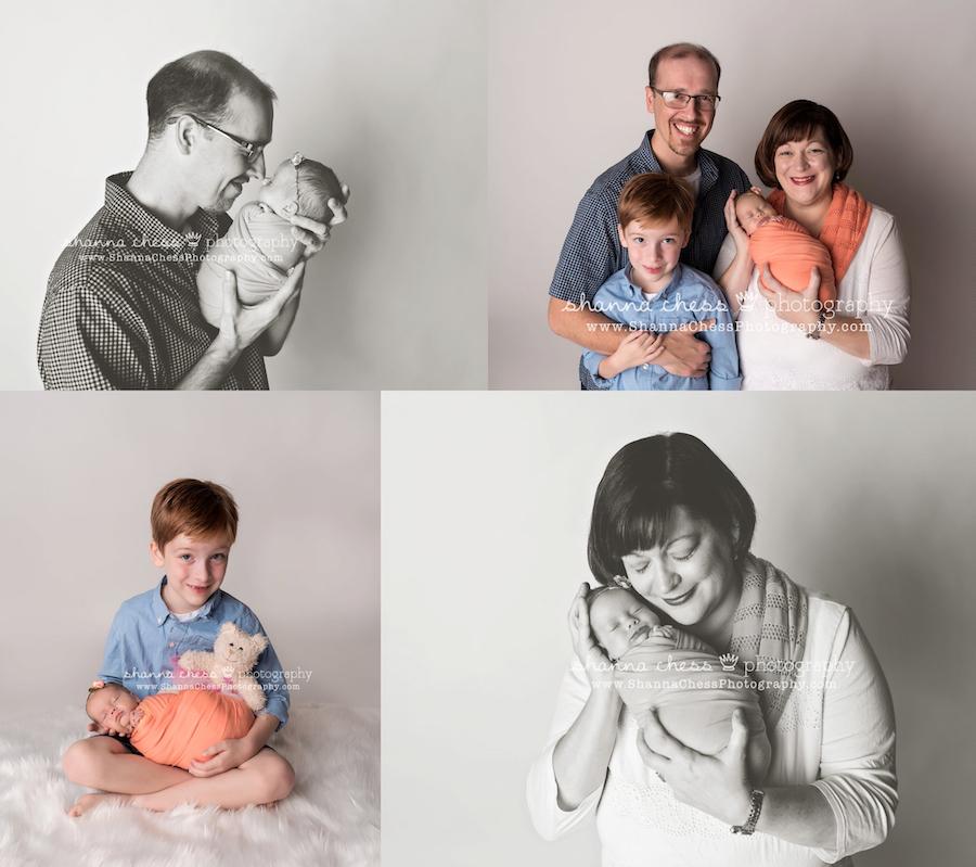 eugene oregon newborn and family photographer