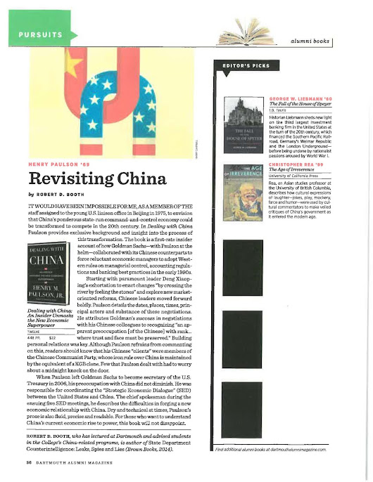Revisiting China By Robert Booth