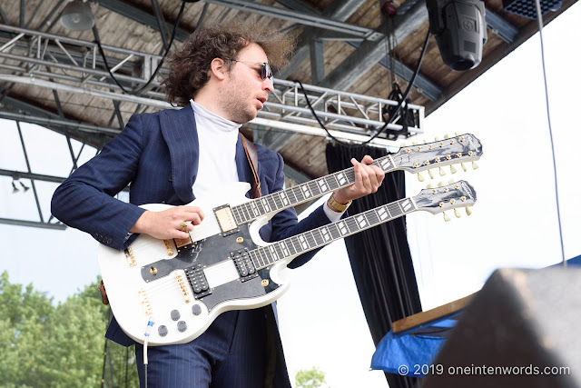 Yonatan Gat and the Eastern Medicine Singers at Hillside Festival on Saturday, July 13, 2019 Photo by John Ordean at One In Ten Words oneintenwords.com toronto indie alternative live music blog concert photography pictures photos nikon d750 camera yyz photographer
