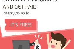 Cara mendapatkan Dollar dari situs Shortlink Ouo.io