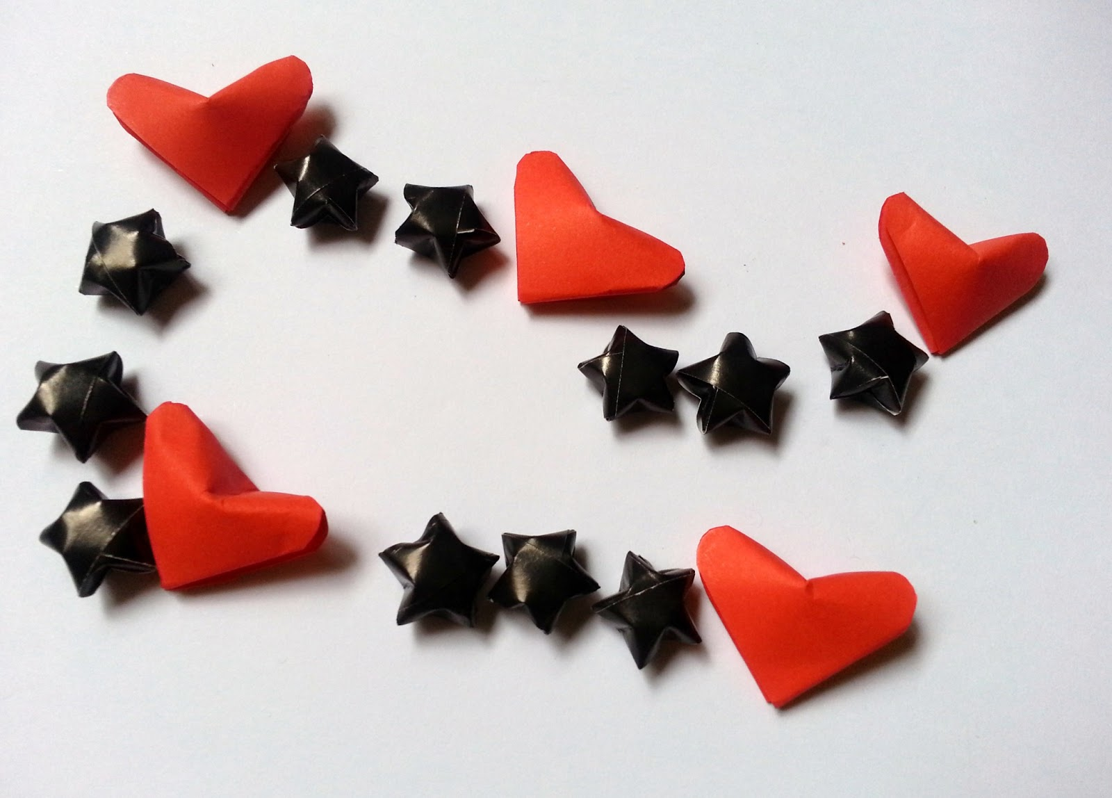3D Origami Lucky Hearts | Bag n Craft - photo#20
