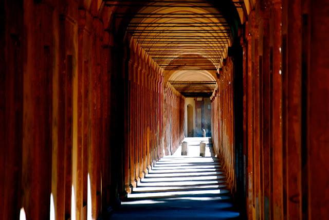 Bologna-portico di San Luca