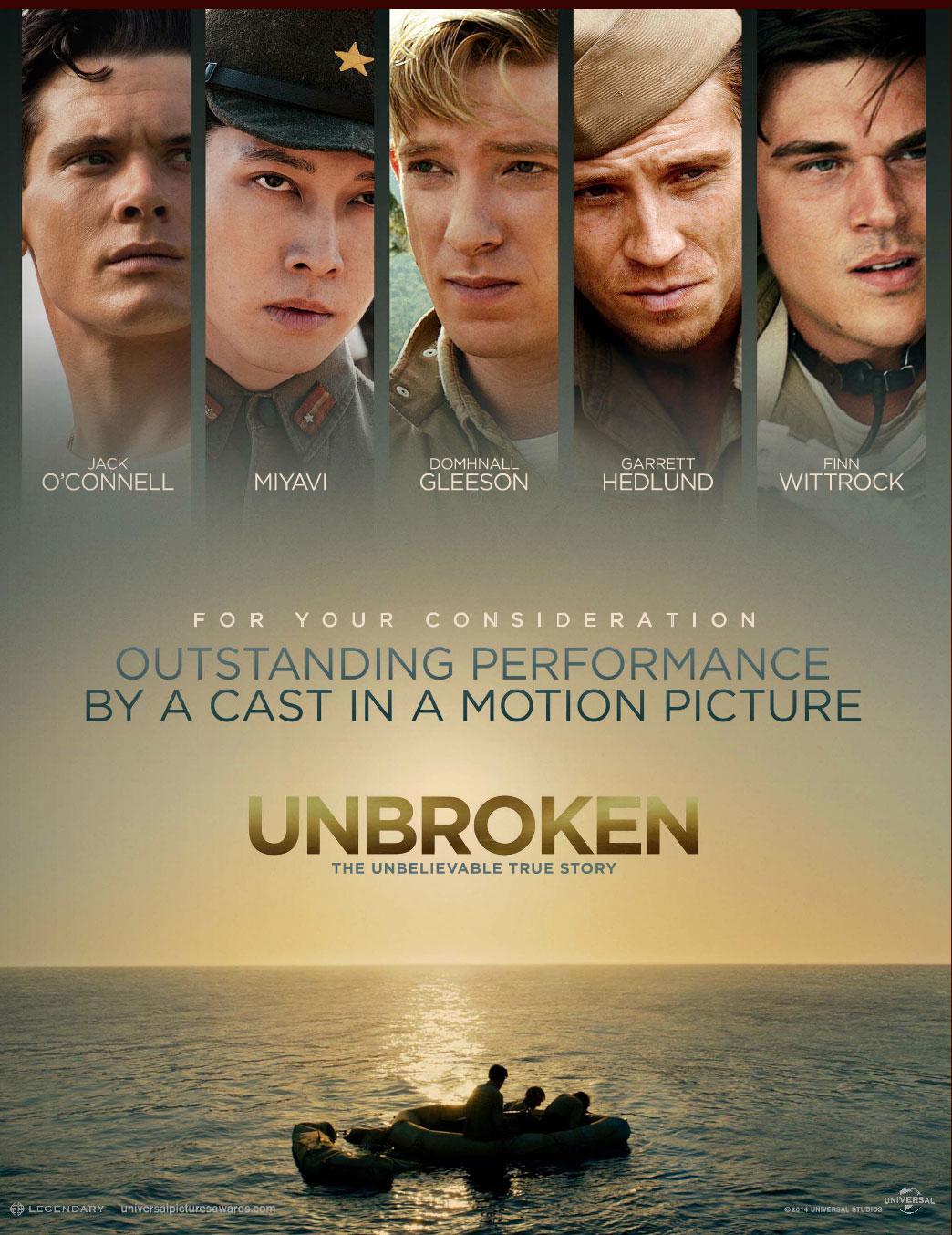 Nonton Film Unbroken (2014)