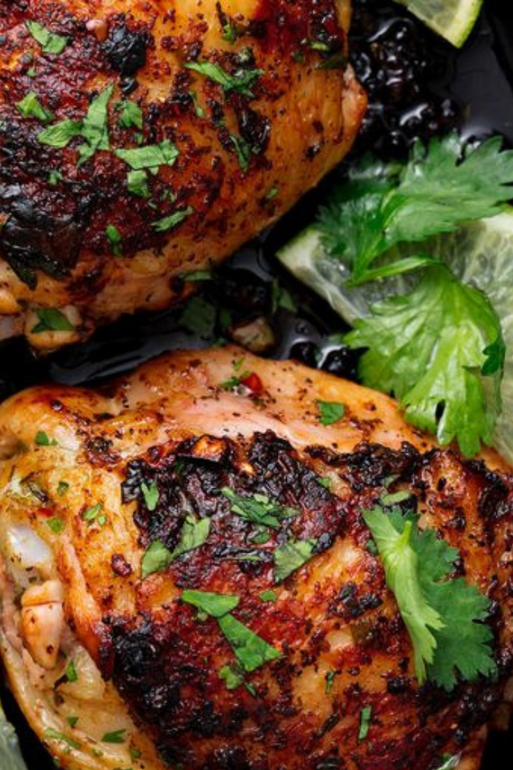 Best Cilantro Lime Chicken Recipe