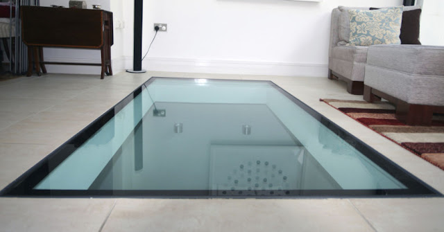 Glass floor - make your dream come true!