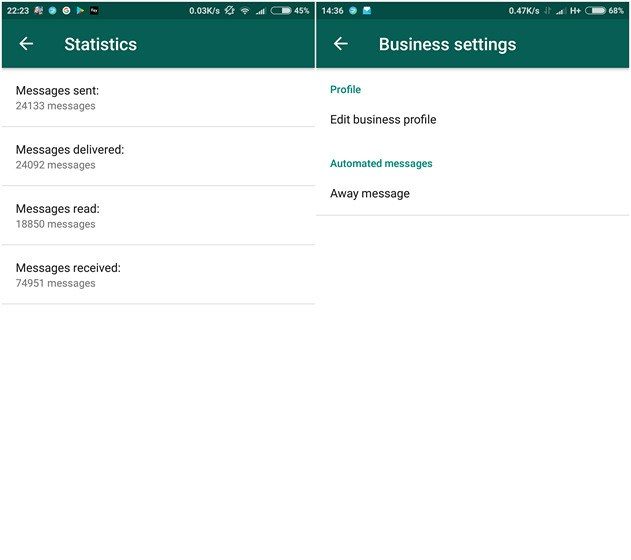 Influence of WhatsApp Business App on Small Business