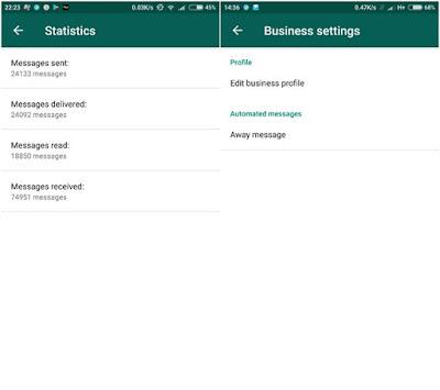 Whatsapp Message Statistics