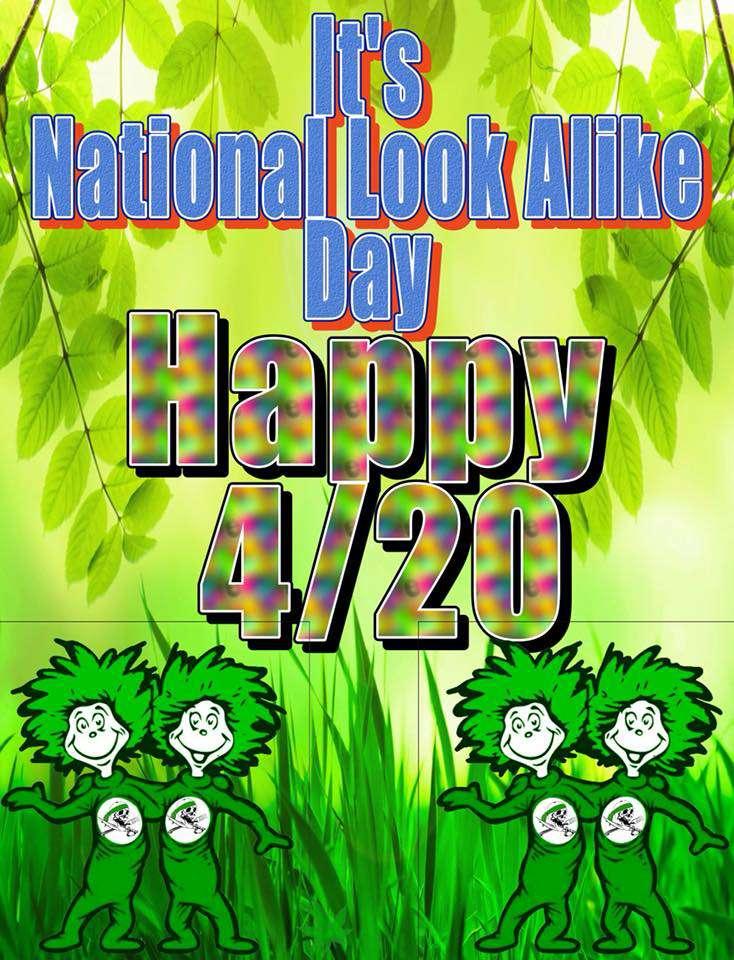 National Look-Alike Day Wishes Beautiful Image