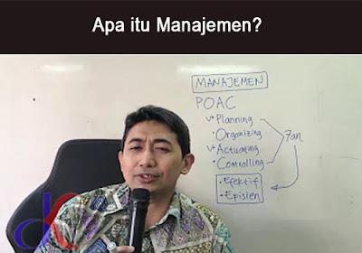 Manajemen | Unsur-unsur penting dalam perusahaan