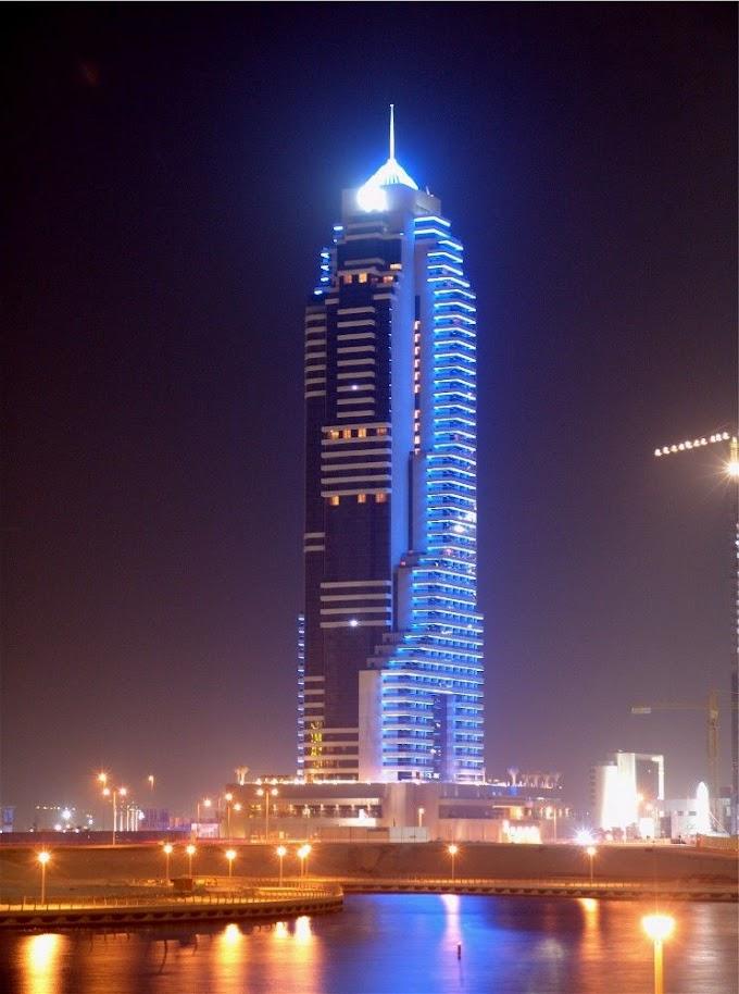 Malam di Dubai