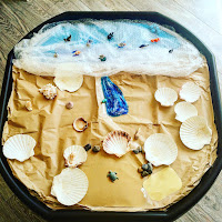under the sea tuffspot tray outside play