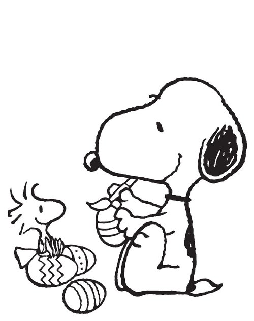 Free Coloring Pages : Snoopy Coloring Pages Free For Kids