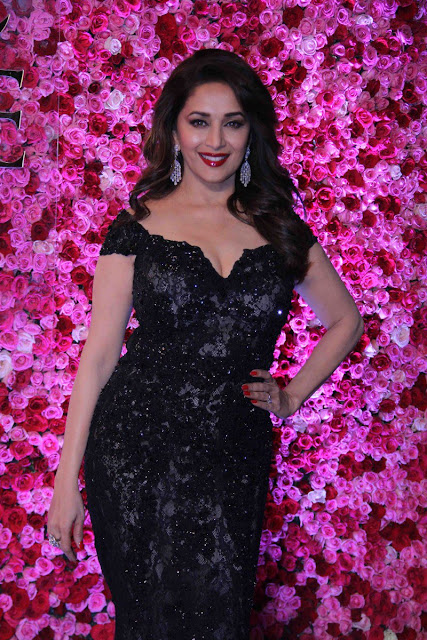 Madhuri dixit at Lux golden rose Awards