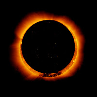Annular solar eclipse 2020