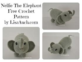 Josefina and Jeffery Chubby Little Elephants PDF Crochet Pattern | 214x280