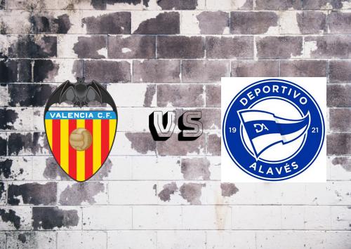 Valencia vs Deportivo Alavés  Resumen