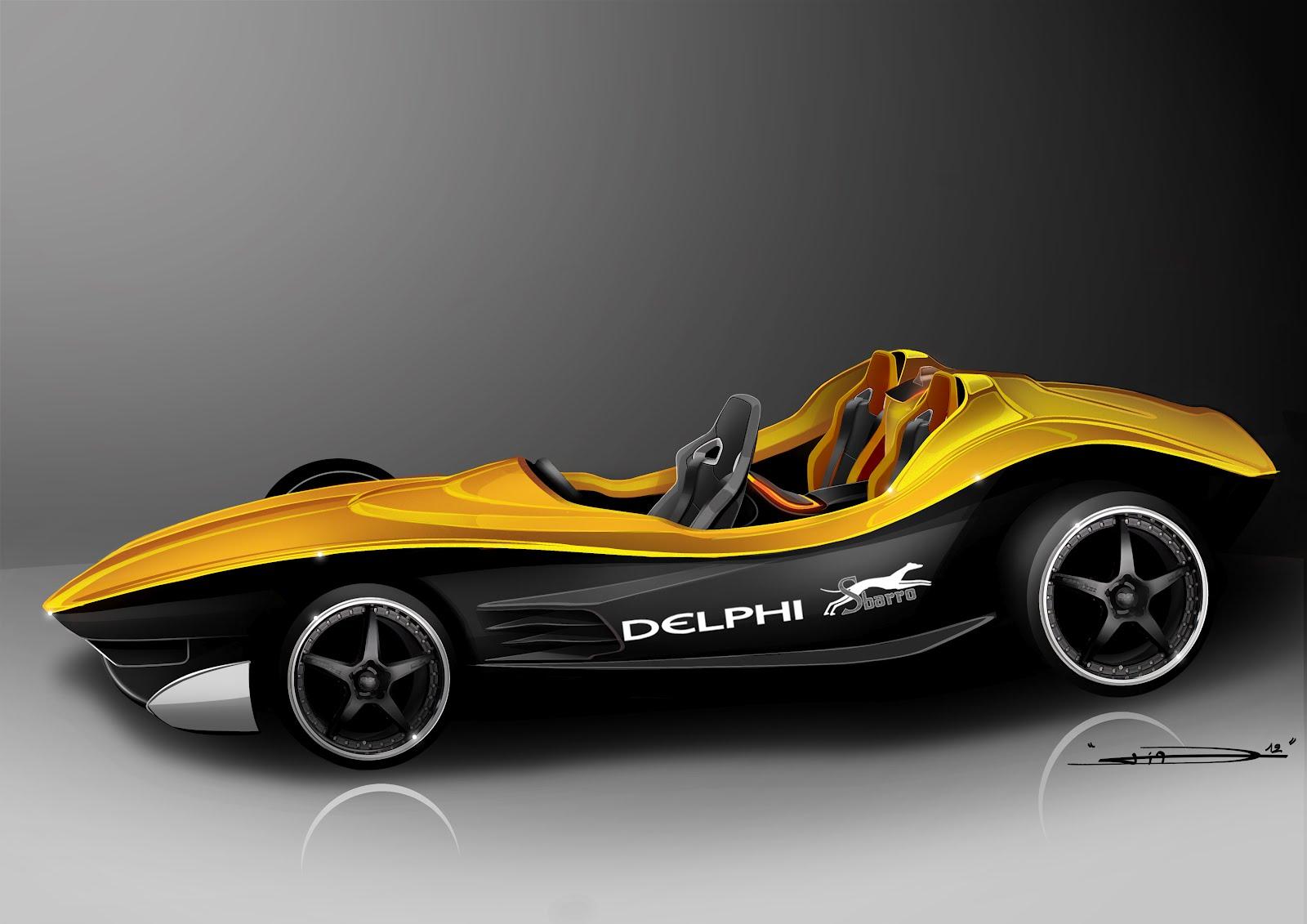 voiture communicante la delphi sbarro va faire le show au salon de gen ve. Black Bedroom Furniture Sets. Home Design Ideas