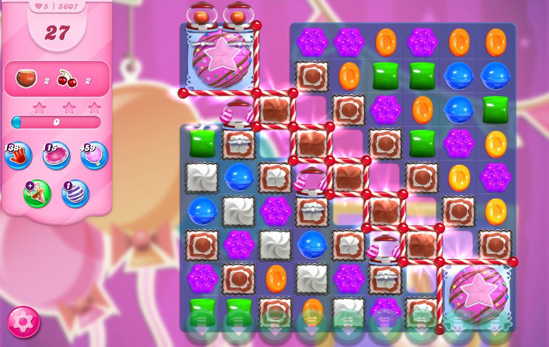 Candy Crush Saga level 5607