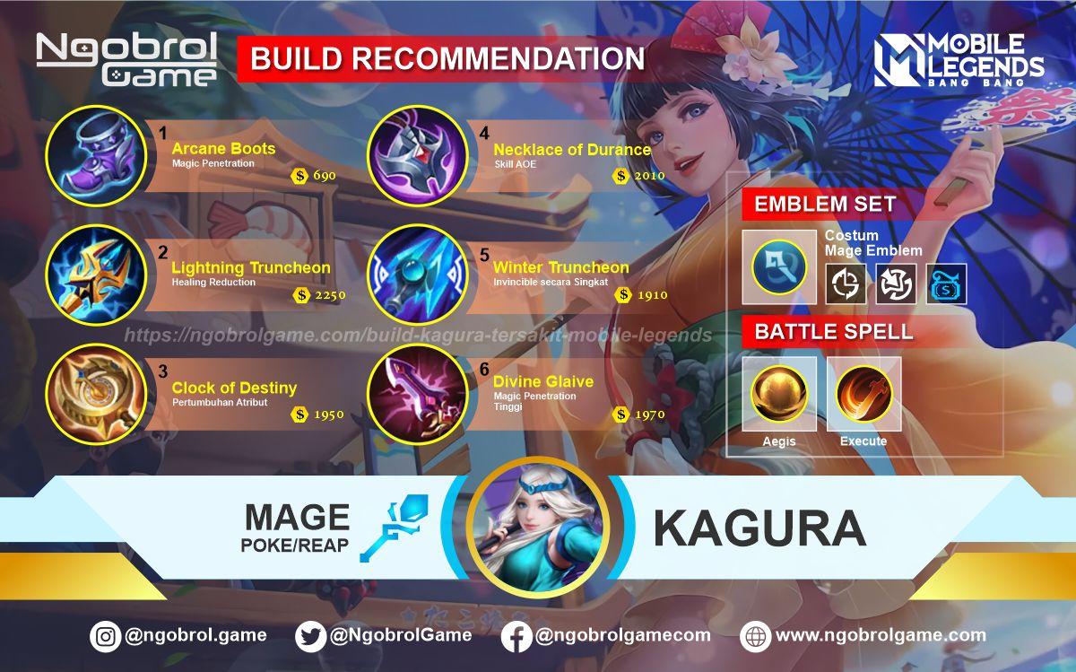 Build Kagura Top Global Tersakit Mobile Legends