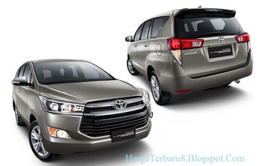Spesifikasi Lengkap All New Kijang Innova Perbedaan Grand Avanza Dengan Veloz Harga Toyota Dan Agustus 2016