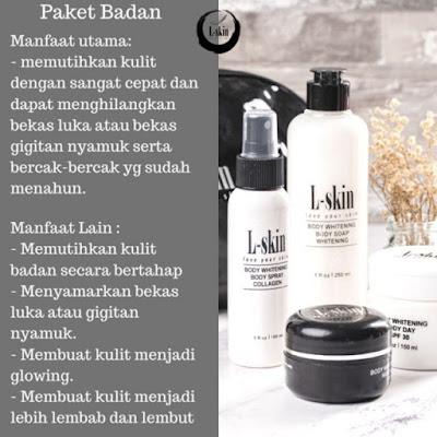 Paket Perawatan L-Skin Body Whitening