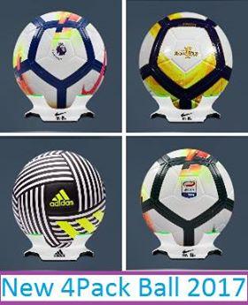 PES 2017 Ballpack 2018 dari Eslam