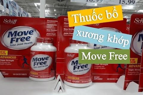 Giới thiệu thuốc xương khớp Move Free Joint Health nhập khẩu từ Mỹ