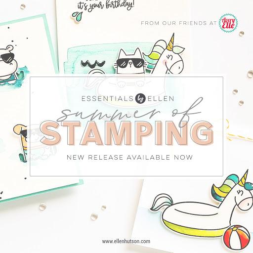 Summer of Stamping with Essentials by Ellen!